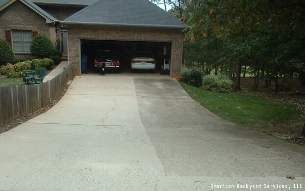 How to pressure wash a driveway driveway sealing for Driveway pressure washer