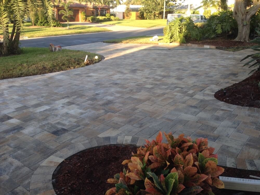 2020 Driveway Pavers Cost Per Square Foot Pavers Driveway