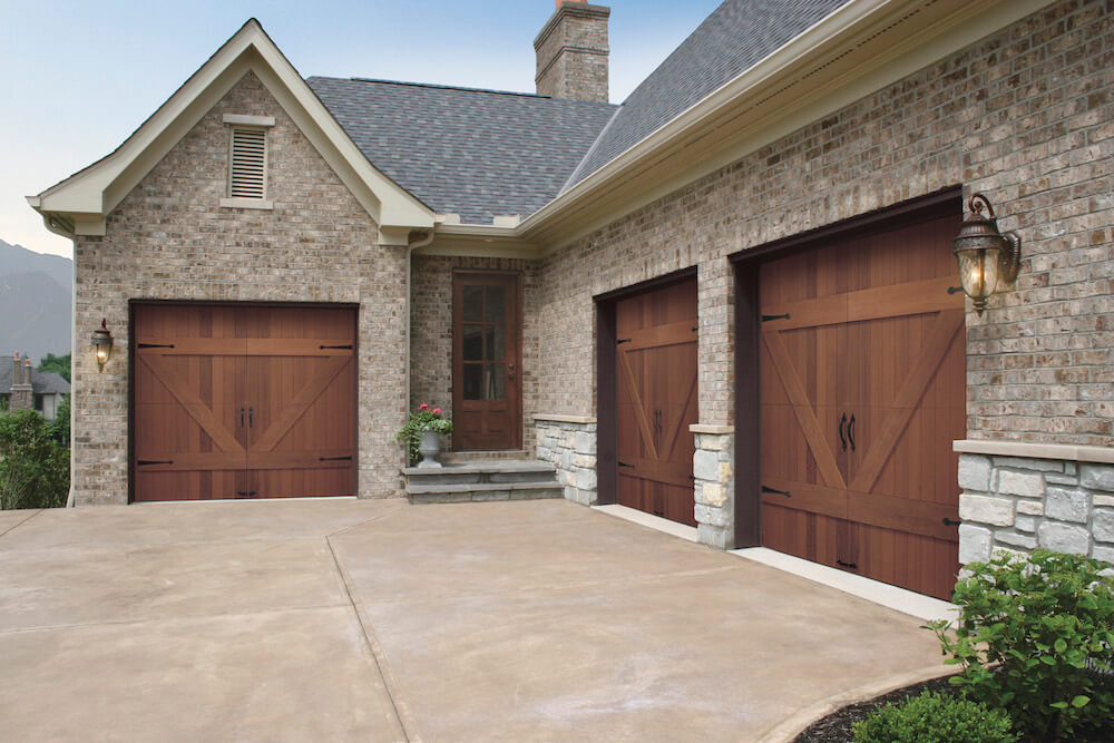 2018 wood garage doors prices wood garage door cost for Cedar wood garage doors price