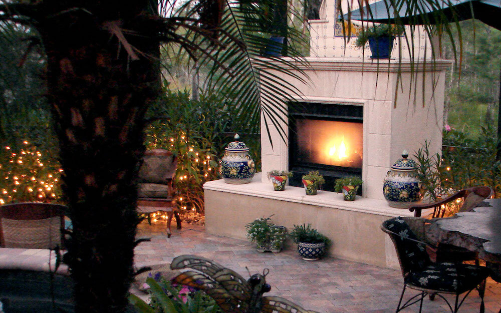The average cost to professionally install an outdoor fireplace ranges between $1