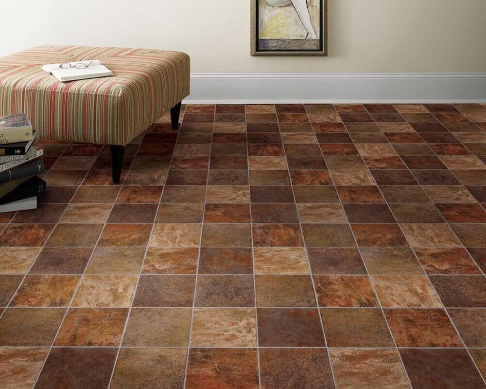 cost to install vinyl tile flooring per square foot