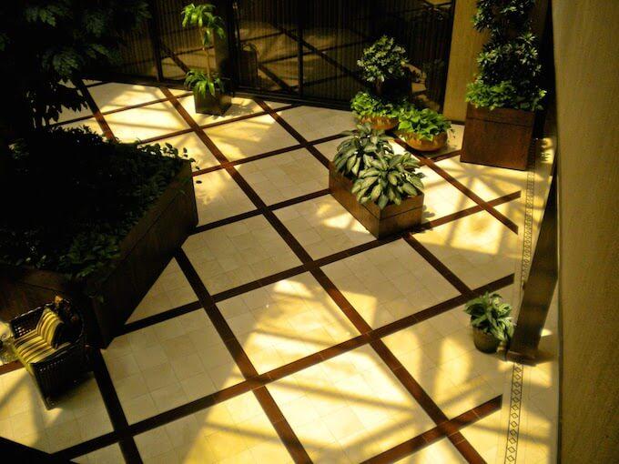 2018 Stone Tile Floor Inlay Costs Tile Inlays Flooring