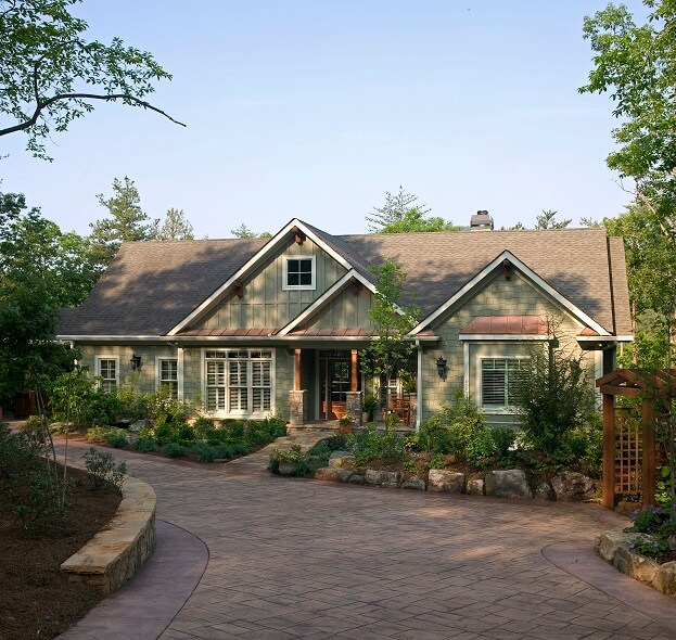 Home Driveway Design Ideas: 4 Exterior Paint Colors That Will Boost Curb Appeal