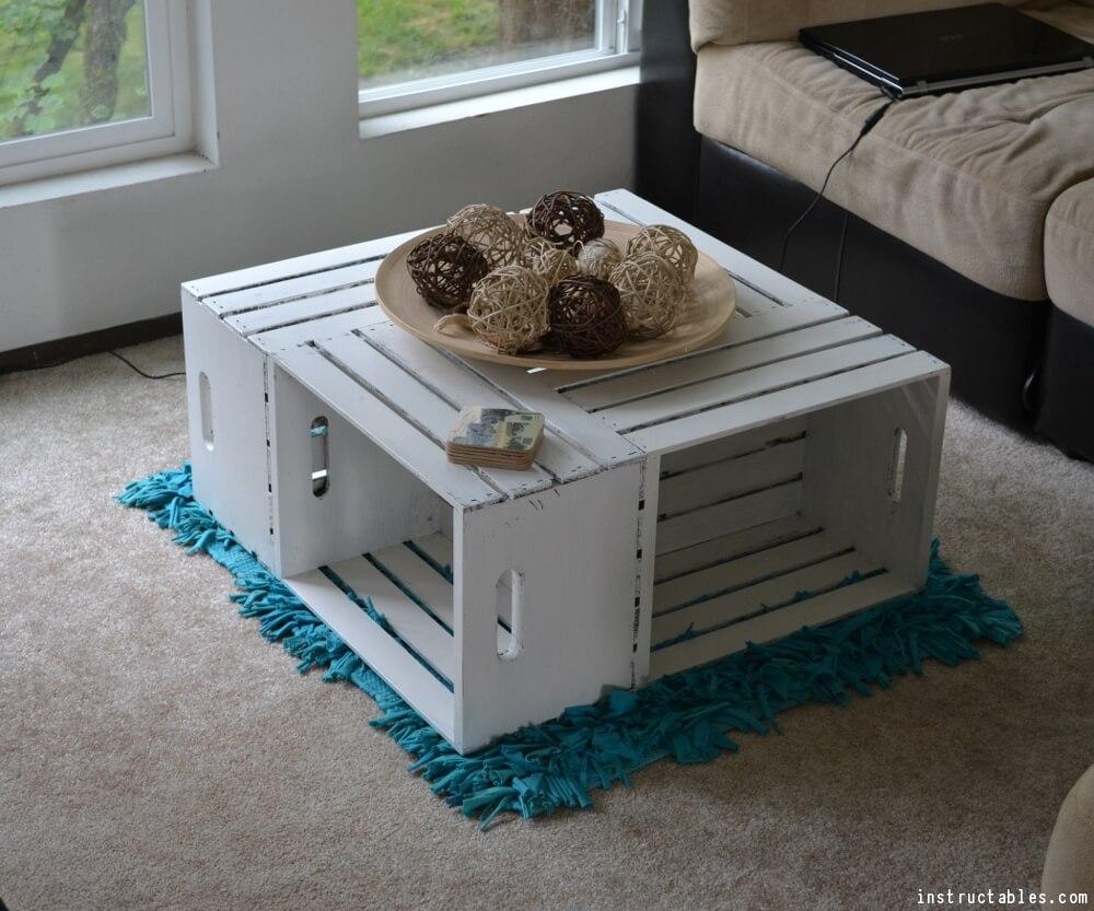 Diy Coffee Table Ideas Wood