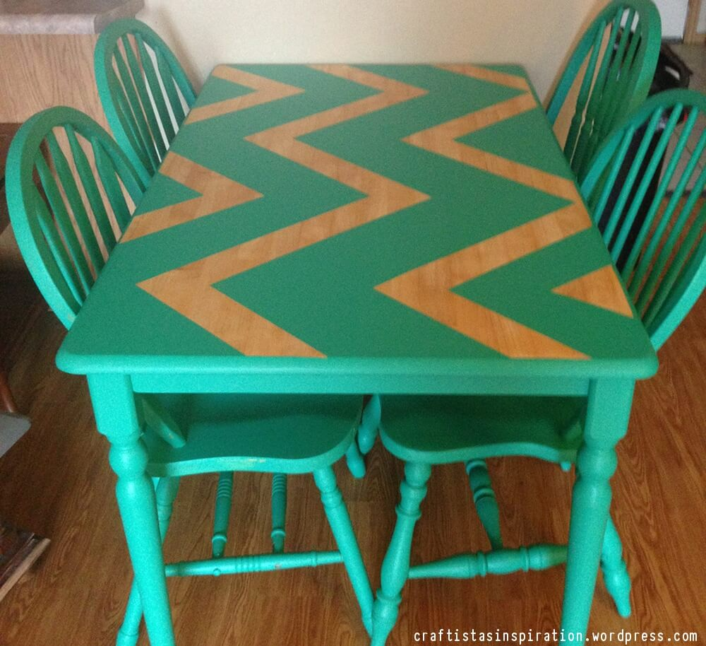 How To Paint Your Kitchen Table & Chairs | DIY Paint