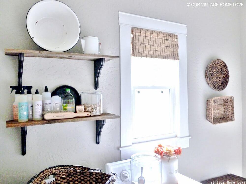 Vintage home d cor ideas vintage d cor home decor for Laundry room decor accessories