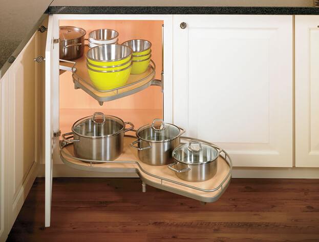 Kitchen Organizers Storage 6 kitchen storage trends to copy corner cabinets workwithnaturefo