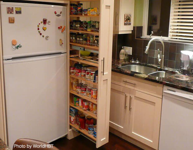 11 small kitchen ideas that make a big difference Maximize kitchen storage