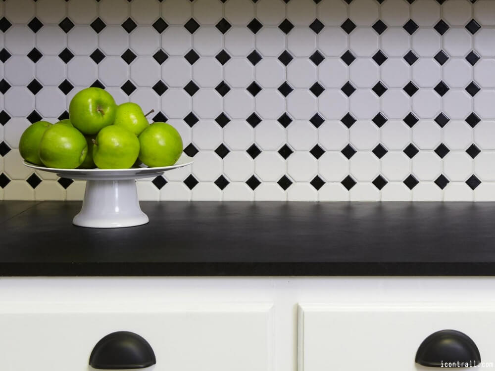 black and white kitchen tiles timeless kitchen backsplash ideas kitchen backsplash tile 7857