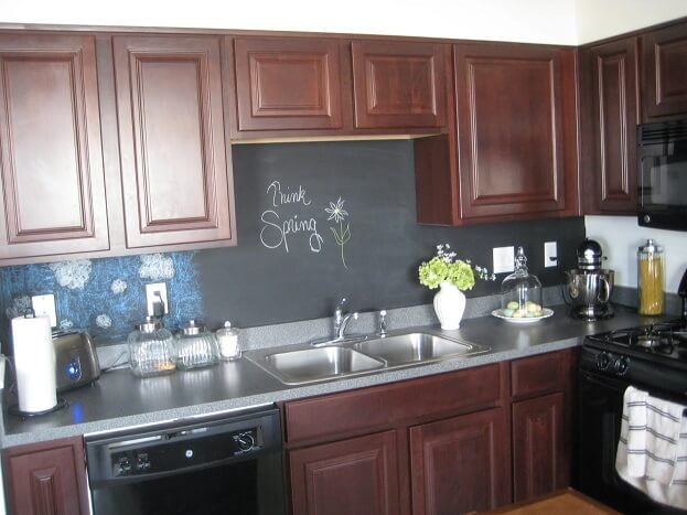 Kitchen Backsplash Trends For 48 Kitchen Remodel Mesmerizing Chalkboard Paint Backsplash Remodelling