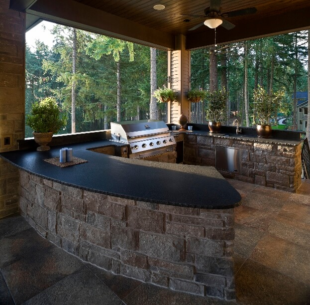 20 Beautiful Outdoor Kitchen Ideas: Outdoor Kitchen Designs