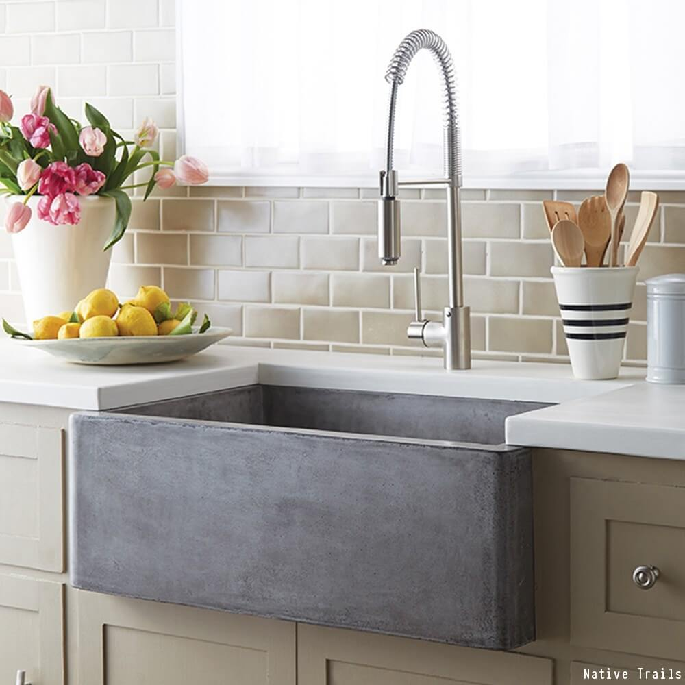 Attractive The Pros & Cons Of A Farmhouse Sink | Farmhouse Sinks QG62