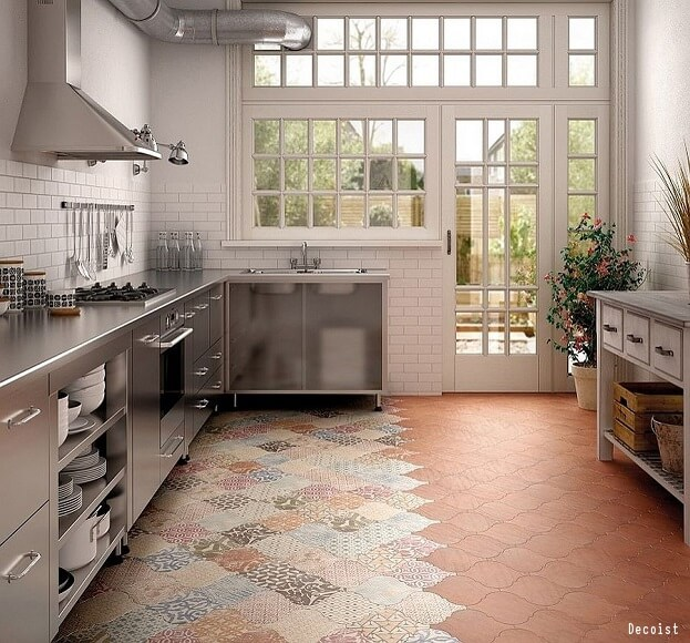 Funky Kitchen Flooring: Bold Tile Design Ideas For Your Kitchen
