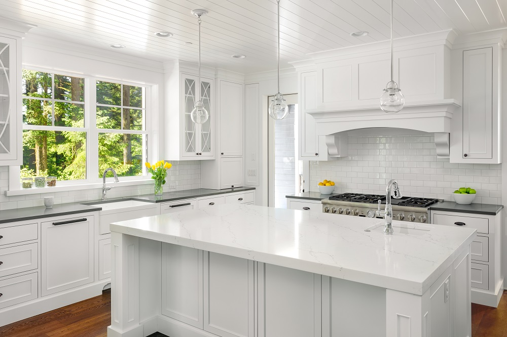 How To Style Your All White Kitchen
