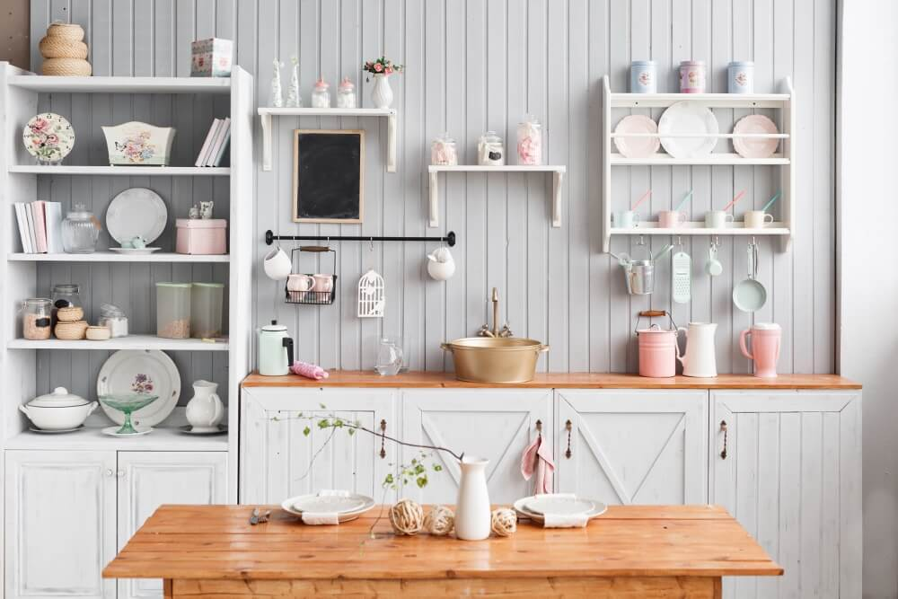 Open Shelving 2018 Kitchen Trends