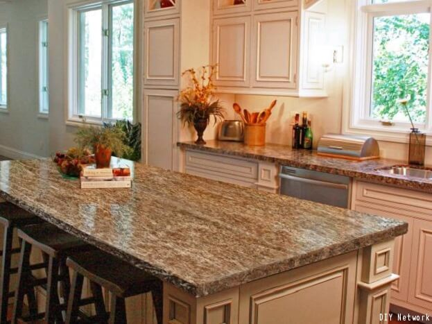 oainting kitchen countertops ideas | How To Put A Fresh Shine On Old Countertops