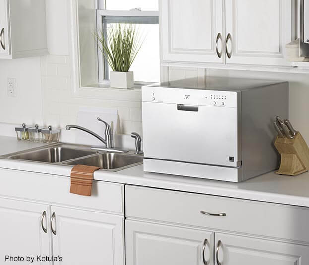 Compact Kitchen Appliances   Countertop Dishwasher