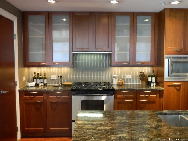 Merveilleux Glass Kitchen Cabinets