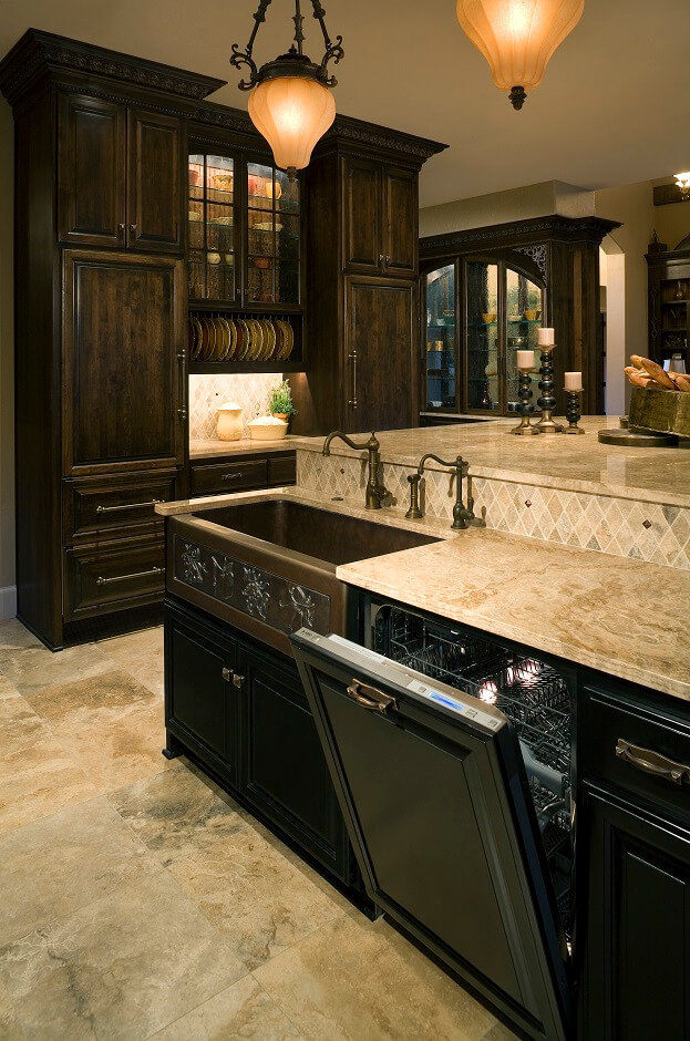 kitchen countertops quartz with dark cabinets. Quartz Countertops Kitchen With Dark Cabinets I