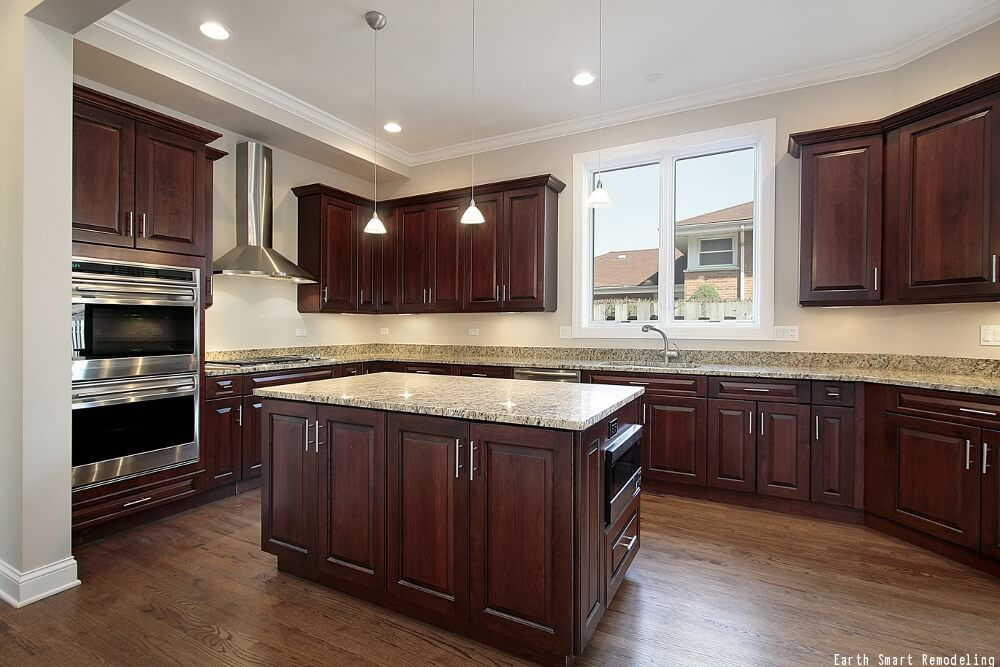 Stain Kitchen Cabinet Finish & Kitchen Cabinet Finishes | Best Finish For Kitchen Cabinets