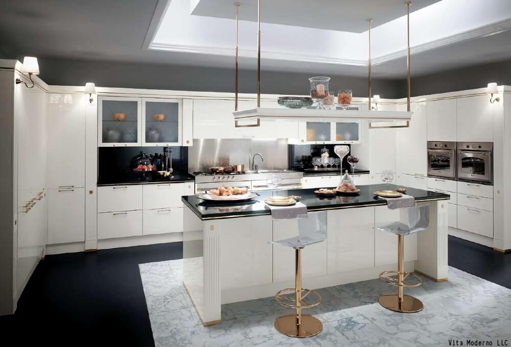 White Kitchen Cabinet Finish