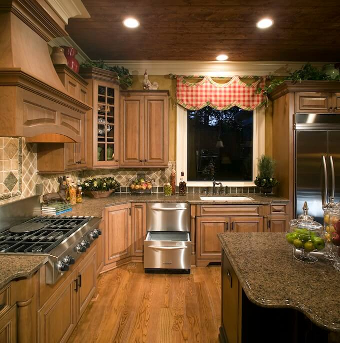 Glazing Kitchen Cabinets Price