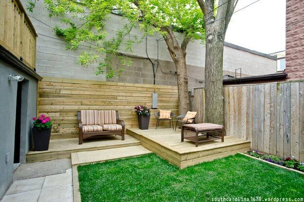 City Backyard Ideas Urban Landscape Backyard Design