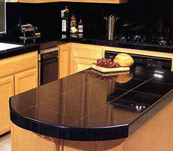 Superbe Black Kitchen Granite Countertops