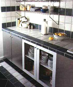 white tile kitchen countertops. Exellent White Kitchen Countertop Options Granite Countertops White Tiled  Countertops For Tile H