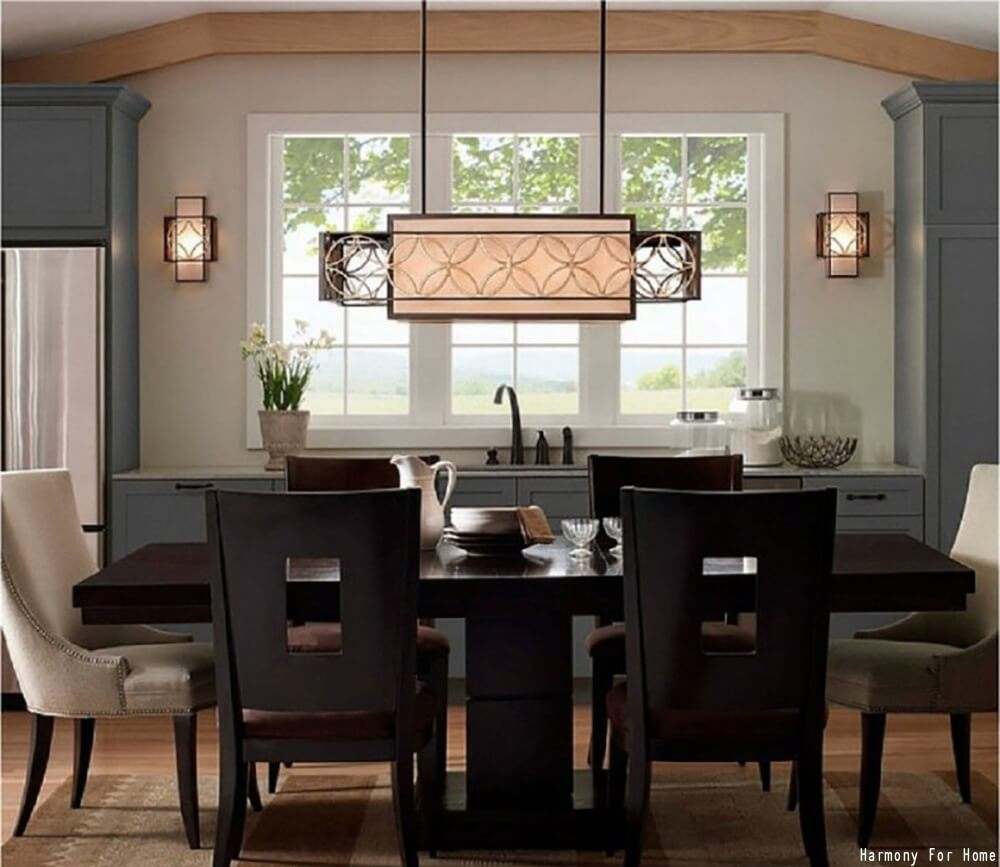 Linear Dining Room Chandelier. Dining Room Chandeliers Ideas   Light Fixtures