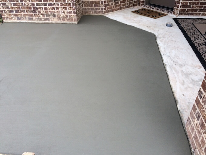 How much does it cost to pour a concrete garage floor for How to pour a concrete slab for a garage