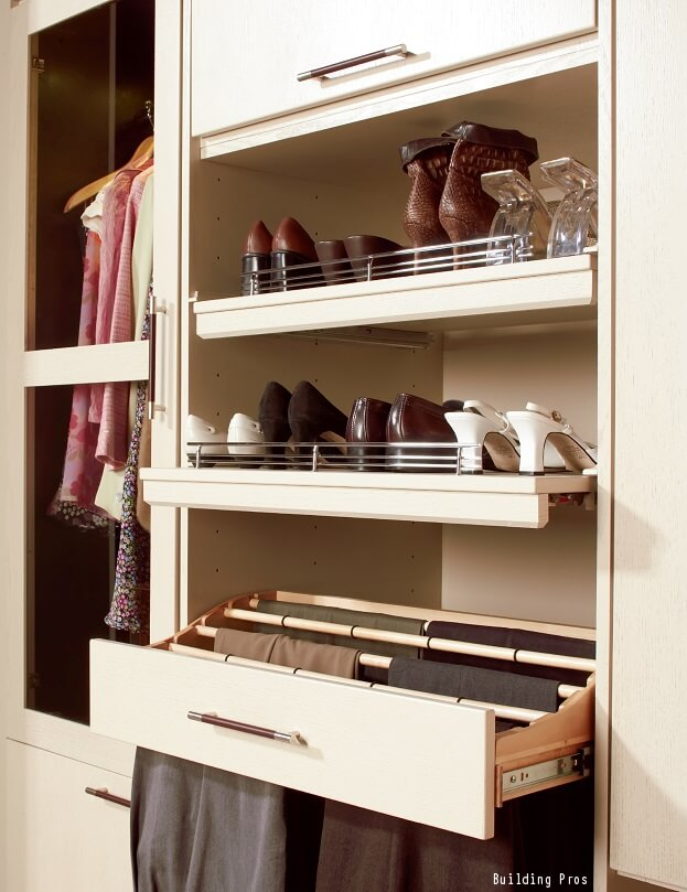 9 ways to add storage to a small home interior design - Storage solutions for small closets ...