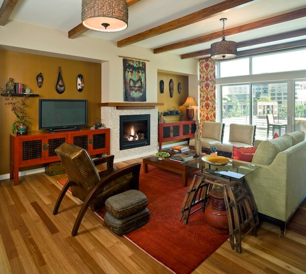 Rustic Eclectic Living Room: 9 Awesome Living Room Design Ideas