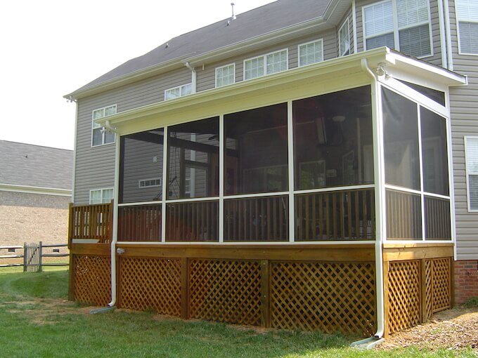 making the budget in of screened a perspective before ideas spicy most screen diy porch small