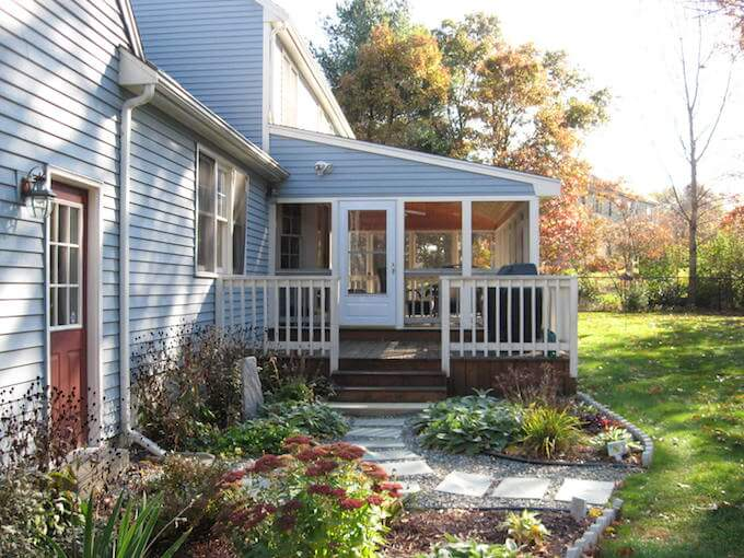 2018 screened in porch cost screened in porch prices for Porches prices