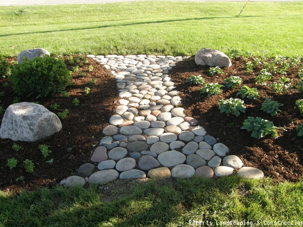 Garden Path Landscaping The perfect garden path landscaping ideas stepping stone garden path workwithnaturefo