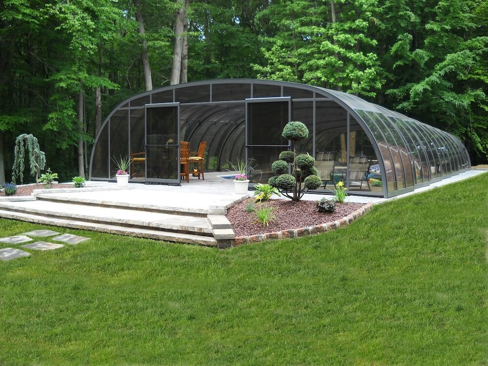 2019 pool enclosure cost screened in pool prices pool - How much does the average swimming pool cost ...