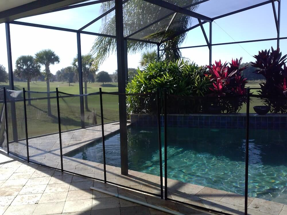 Portable Vs. Permanent Swimming Pool Enclosure Prices : pool cage doors - pezcame.com