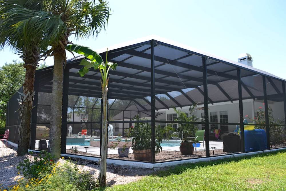 2021 Pool Enclosure Cost Screened In Pool Prices Pool Screen Enclosure Cost