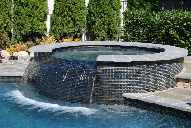 Trends in pool design 2016 swimming pool ideas spa and glass tile ideas ppazfo