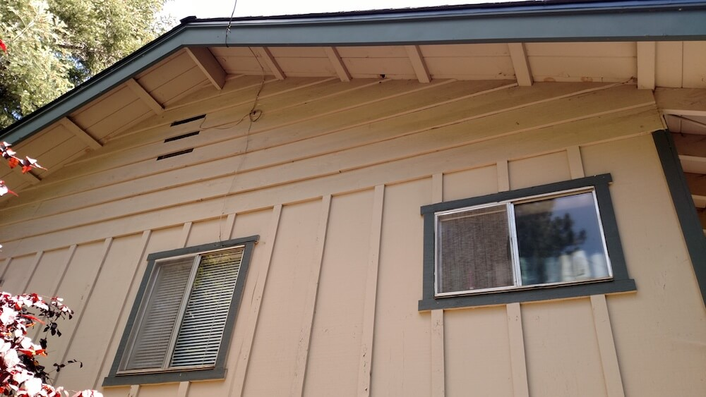 Batten Board Siding Repairs