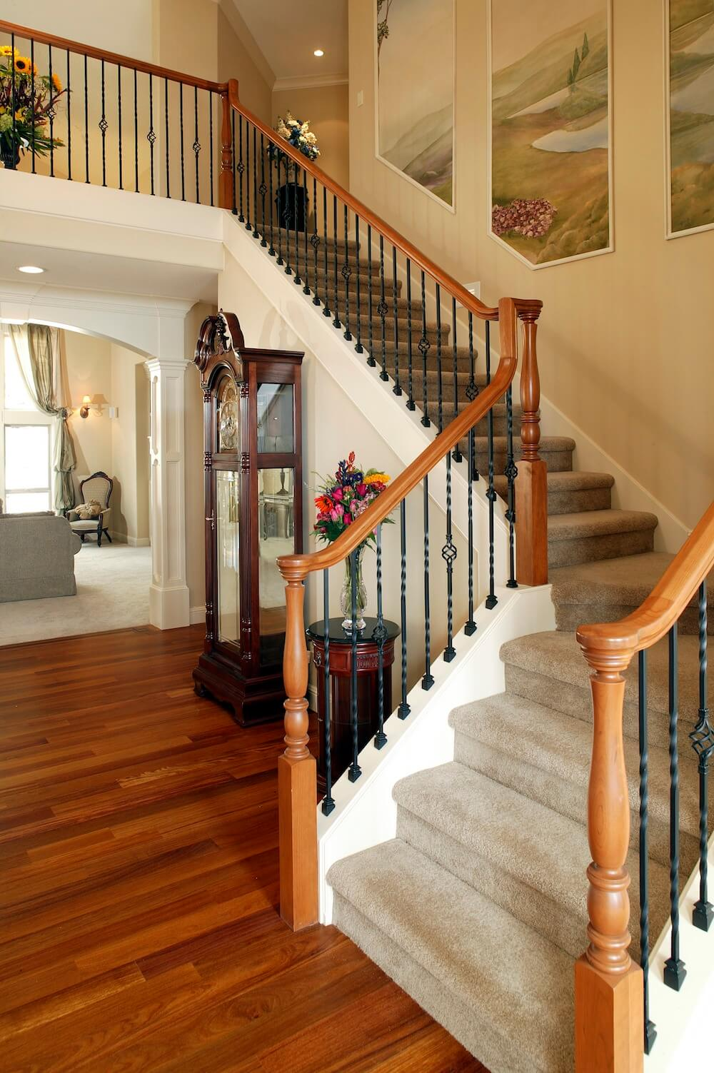 2019 Staircase Cost Cost To Build Railings Amp Handrails